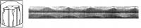 КВ14 Битые грани с 4-мя полосами