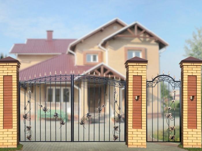 """Ворота """"Дачные"""" Лоза"""