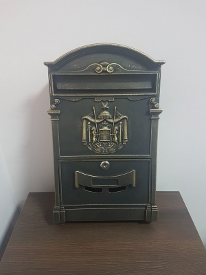 Почтовый ящик Золото