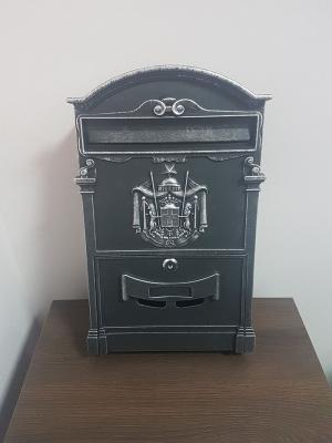 Почтовый ящик Серебро