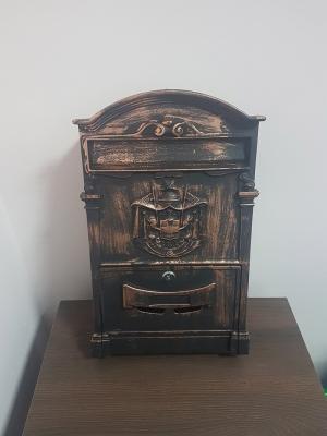 Почтовый ящик Старая медь