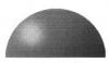 Полусфера 60 мм