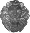 Лев большой декоративный (литьё)