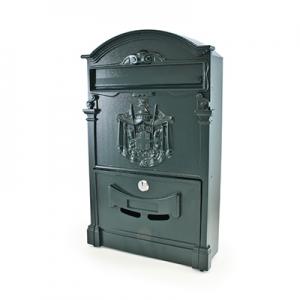 Ящик почтовый №4010 тёмно-зелёный